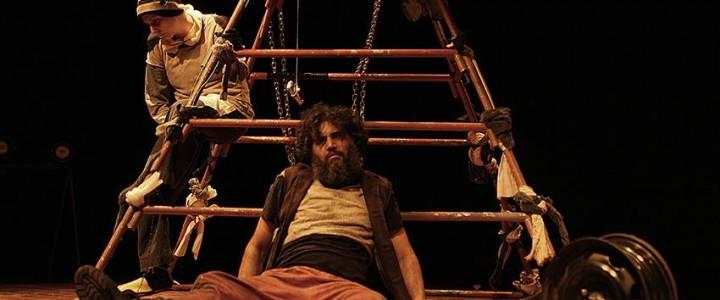 """Peça """"Eles"""" se apresenta mais um final de semana na sede da Cia Folgazões."""