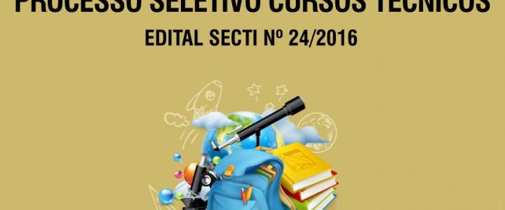 Processo Seletivo – Ceet Vasco Coutinho