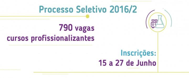 06/06/2016 – Governo oferece 790 vagas em Centros Estaduais de Educação Técnica