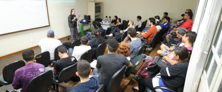 2º ciclo de palestra sobre desenvolvimento de Jogos
