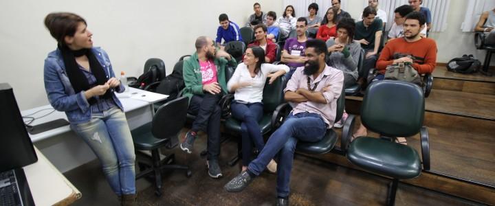 Segundo dia do 2º ciclo de palestras sobre desenvolvimento de jogos do CEET Vasco Coutinho