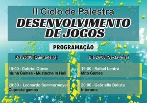 II Ciclo de Palestra de Desenvolvimento de Jogos