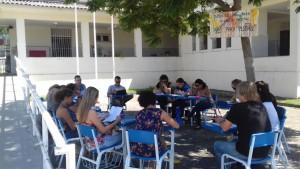 Aula de Ética com a turma de Gastronomia do turno matutino com o professor Cosme Fantinato. Uma abordagem sobre a temática da Alteridade.