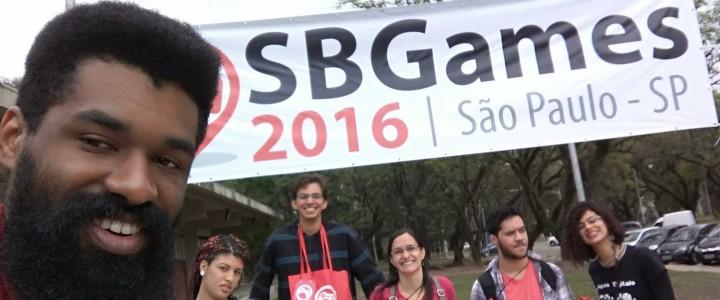 Alunos e Professores do Curso de Programação de Jogos Digitais do Ceet Vasco Coutinho viajaram até São Paulo e participaram do SBGAMES 2016.
