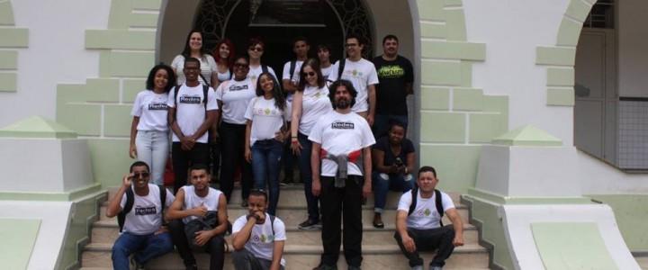 Curso Técnico de Informática e Redes de Computadores, tiveram um dia diferente, visitaram o campus do Ifes Santa Teresa
