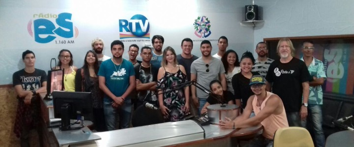 Visita técnica à Rádio Espírito Santo