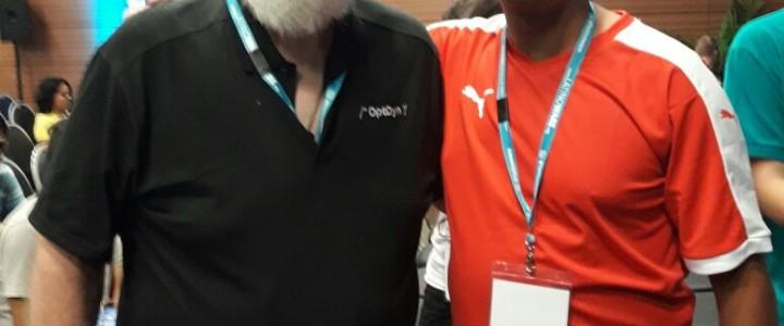 Turma de Redes de Computadores do Noturno participou do Congresso Latino Americano de Software Livre