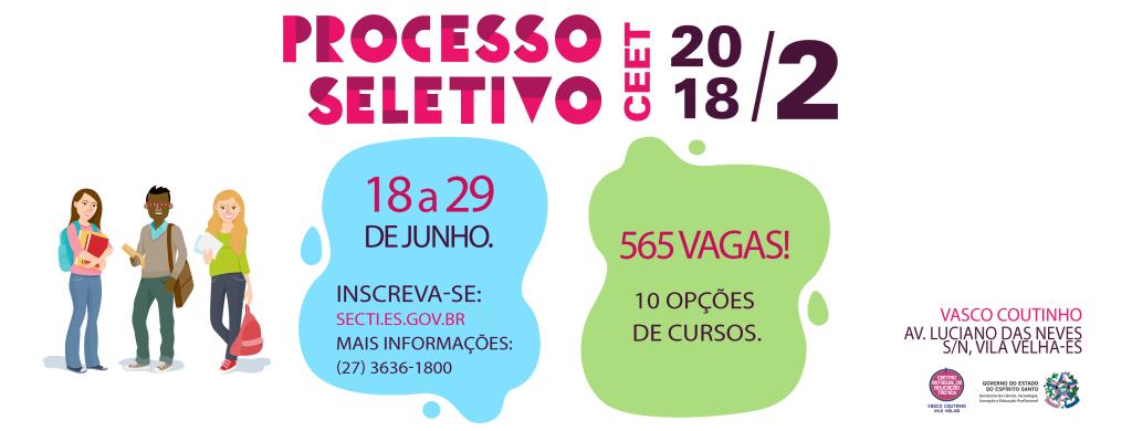 Capa para Facebook CEET Vasco Coutinho